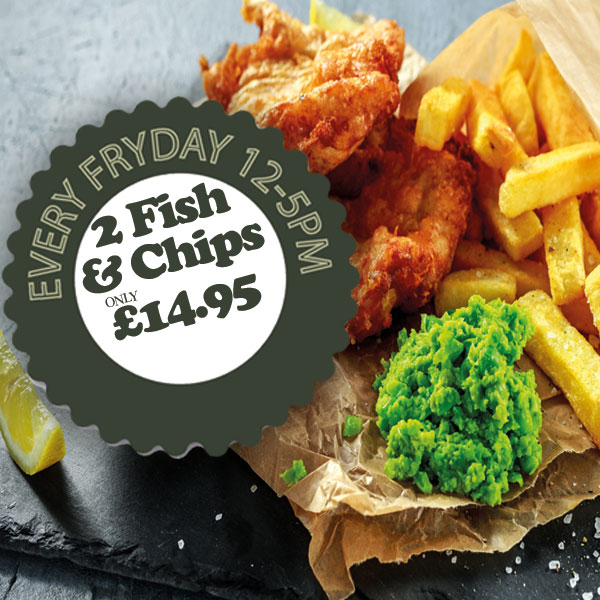 Pub Friday Fish Day Bilsthorpe